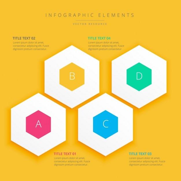 Background design infografica Vettore gratuito