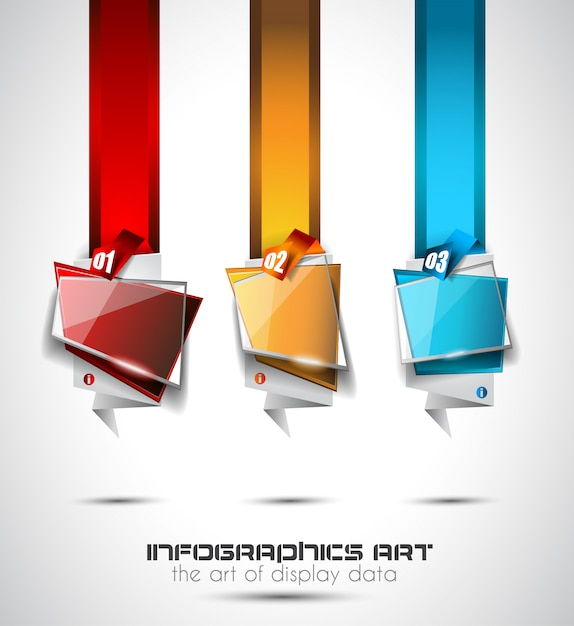Infographic layout for infocharts, item classification Premium Vector