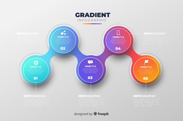 Infographic Free Vector