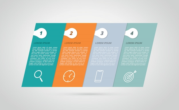 Infographic Premium Vector