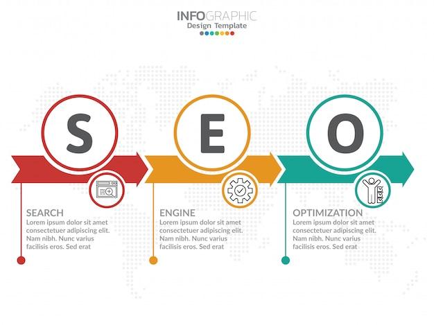 Infographics design template. Premium Vector