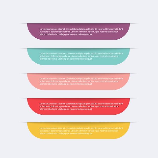 Infographics illustration Premium Vector