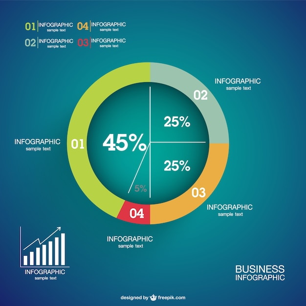 Infographics percentage pie chart vector free download infographics percentage pie chart free vector gumiabroncs Gallery