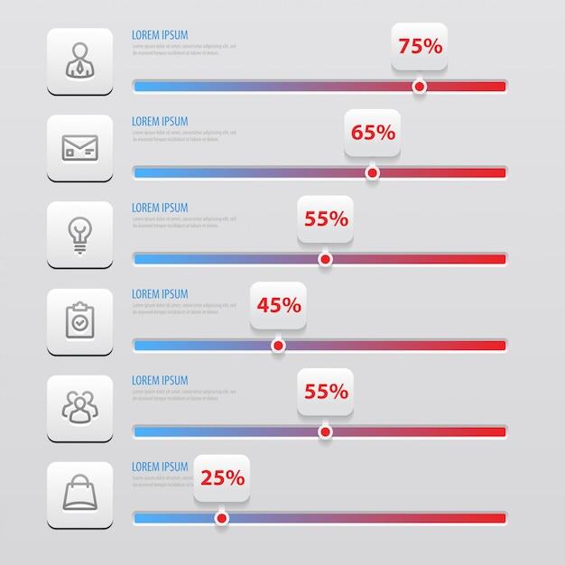 Infographics Premium Vector