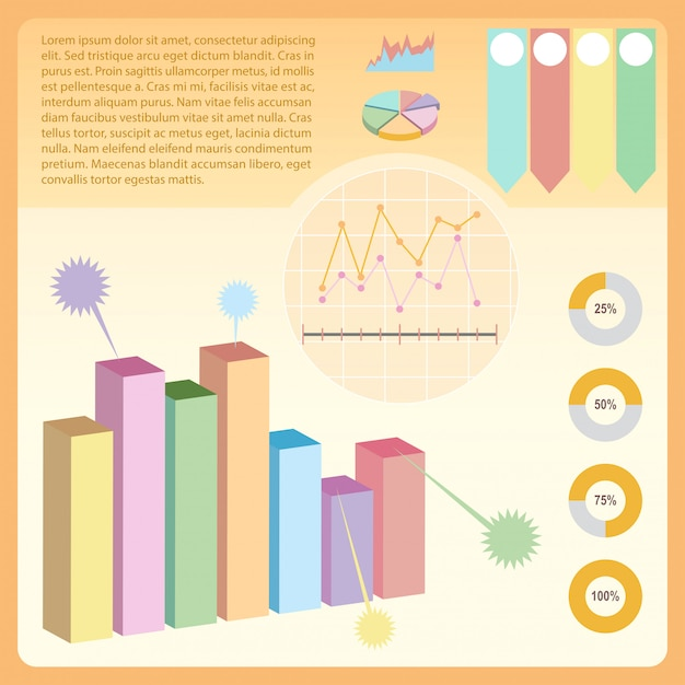 An infographics Free Vector