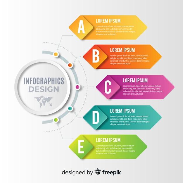 インフォグラフィック Premiumベクター