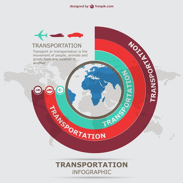Information graphics transportation\ vector