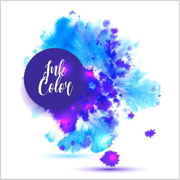 Ink color background