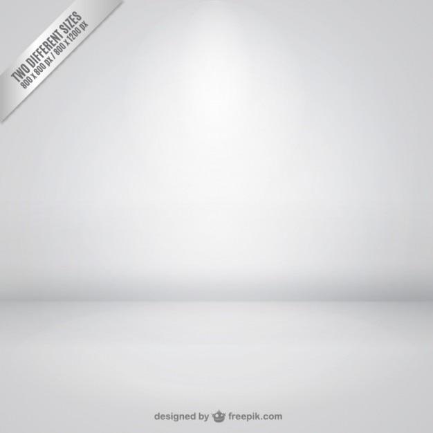 Inside empty room background vector Free Vector