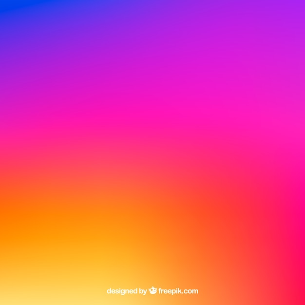 Instagram background in gradient colors