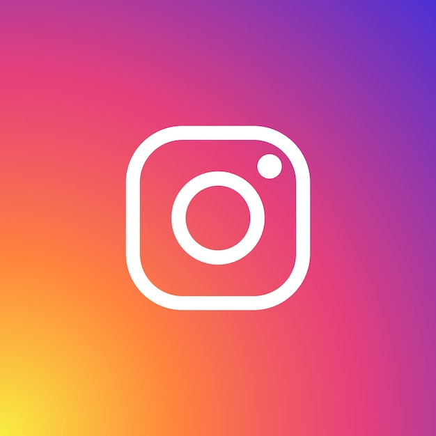 Instagram logo Free Vector