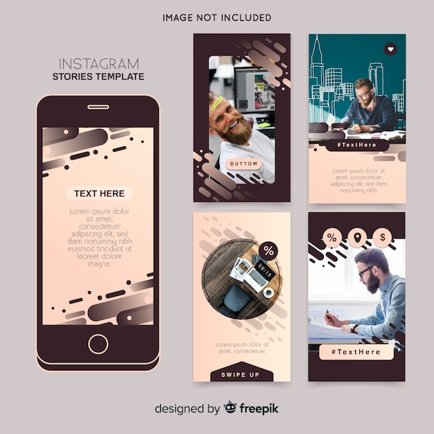Instagram stories template Vector | Free Download