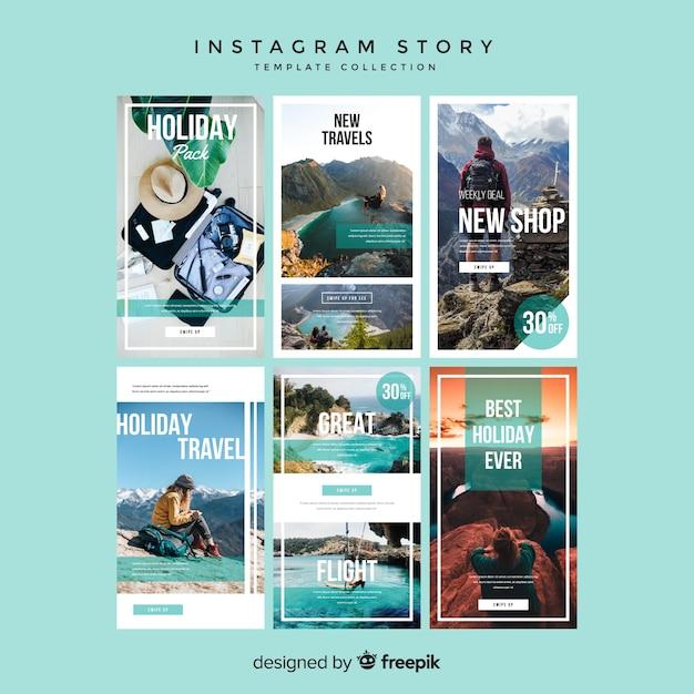 Instagram stories templates Vector | Free Download