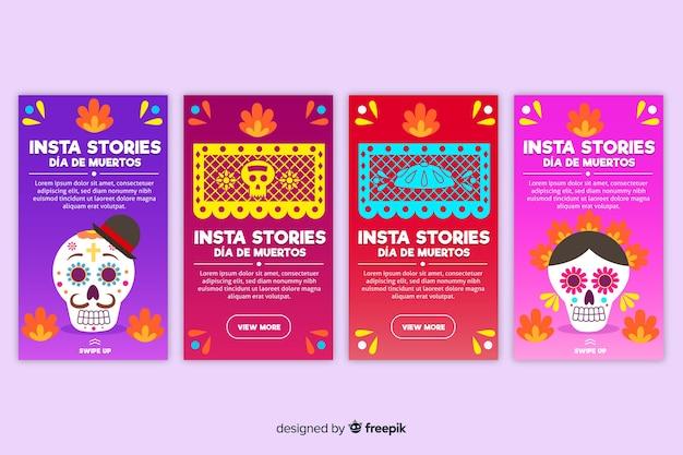 Сборник рассказов от instagram Бесплатные векторы