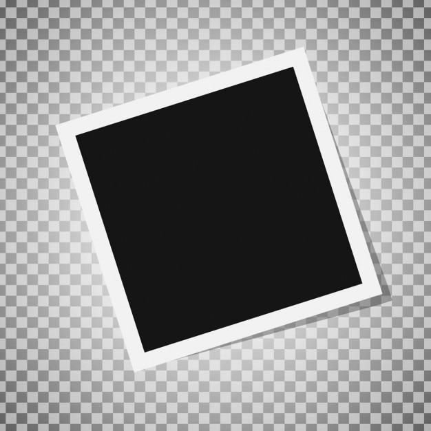instant photo frame free vector