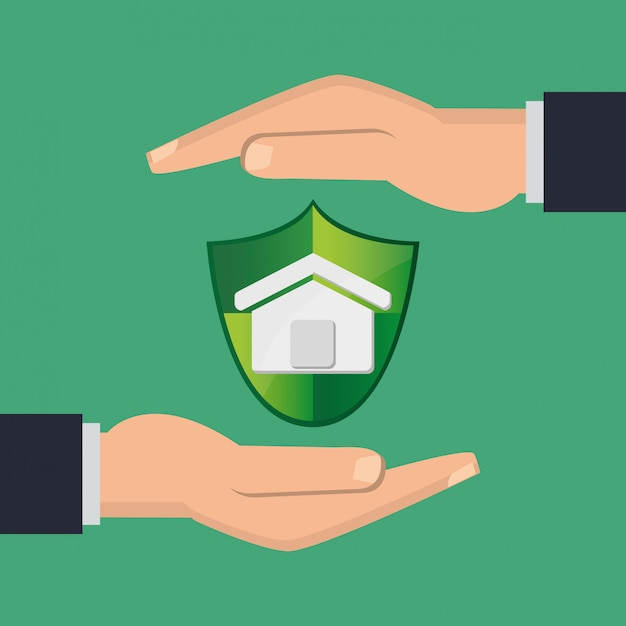 Insurance services related icons image Premium Vector