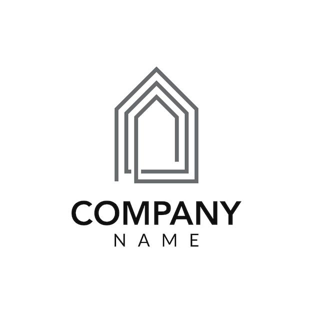 Interior Design Free Icons: Interior Design Vector Logo Icon Illustration Vector