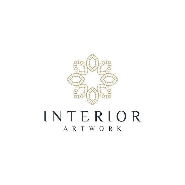Premium Vector Interior Home Decoration Logo