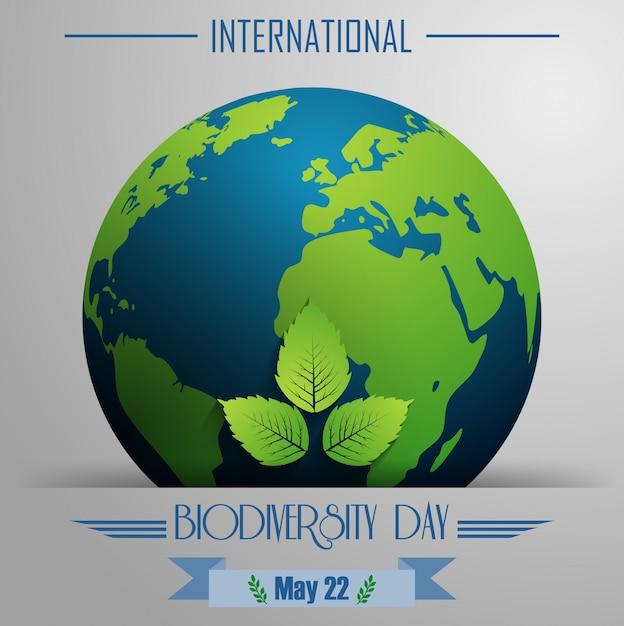 Международный день биоразнообразия Premium векторы