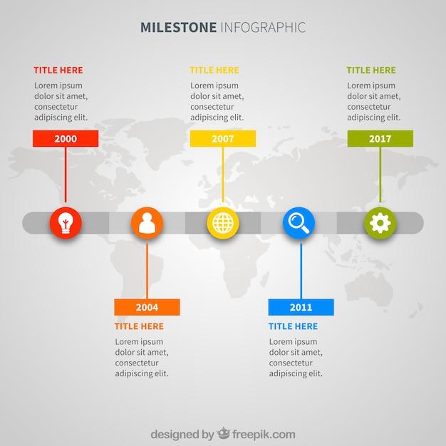 International company infographic