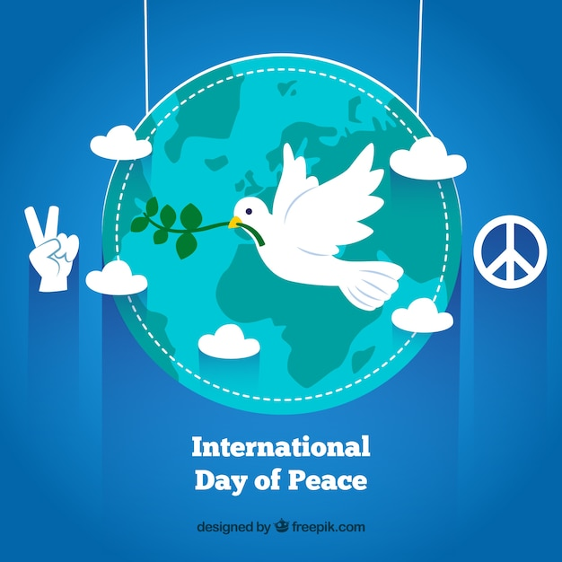 International Day Of Peace Greeting Vector Free Download Gorgeous Download Images About Peace
