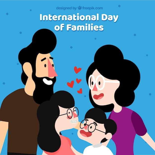 International family day background