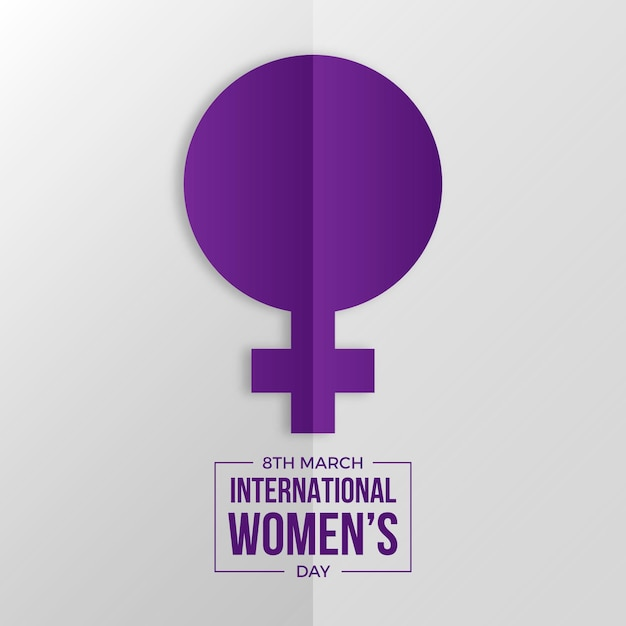 International women day background Free Vector