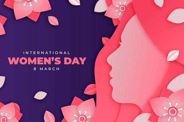 International women day background Premium Vector