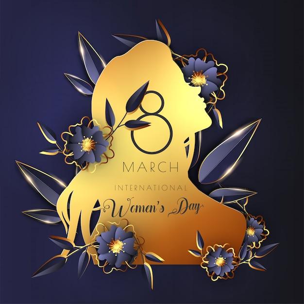 International women's day template Premium Vector