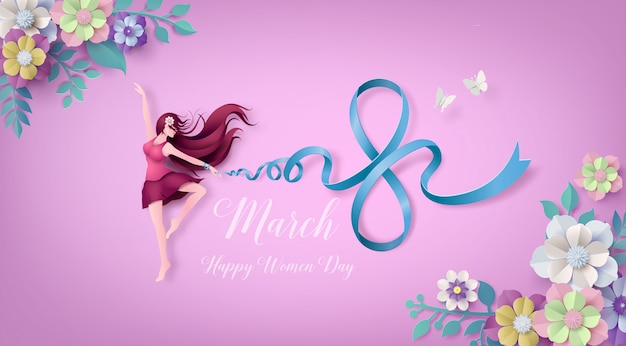 International women's day Premium Vector