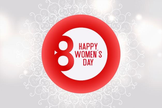 Modello del fondo di celebrazione di giornata internazionale della donna Vettore gratuito