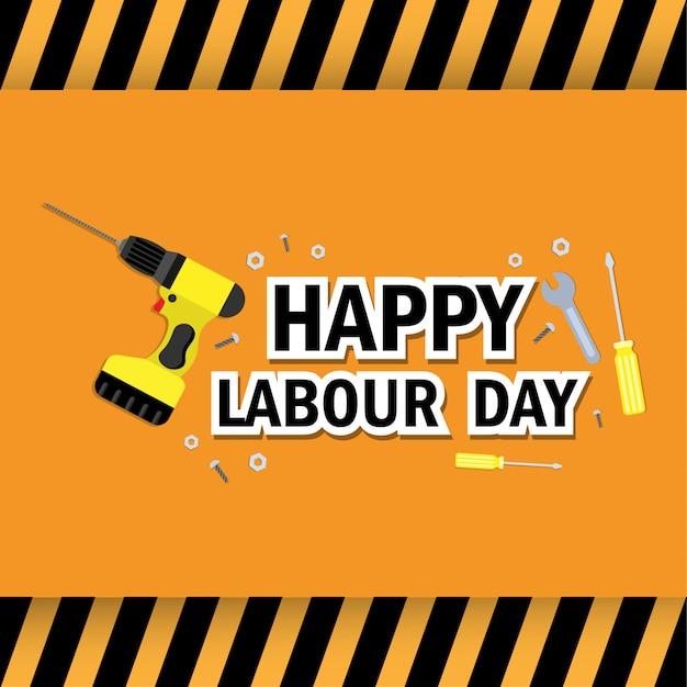 International worker's day Premium Vector