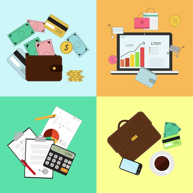 investing and personal finance credit and budgeting cashflow
