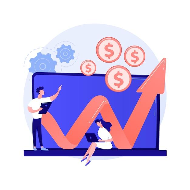 Fondo di investimento concetto astratto illustrazione vettoriale. fiducia negli investimenti, schema degli azionisti, creazione di fondi, opportunità di business, capitale di rischio aziendale, metafora astratta della leva finanziaria degli hedge fund. Vettore gratuito