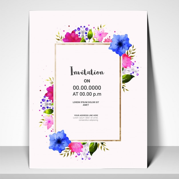 Invitation card template roho4senses invitation card template stopboris Choice Image