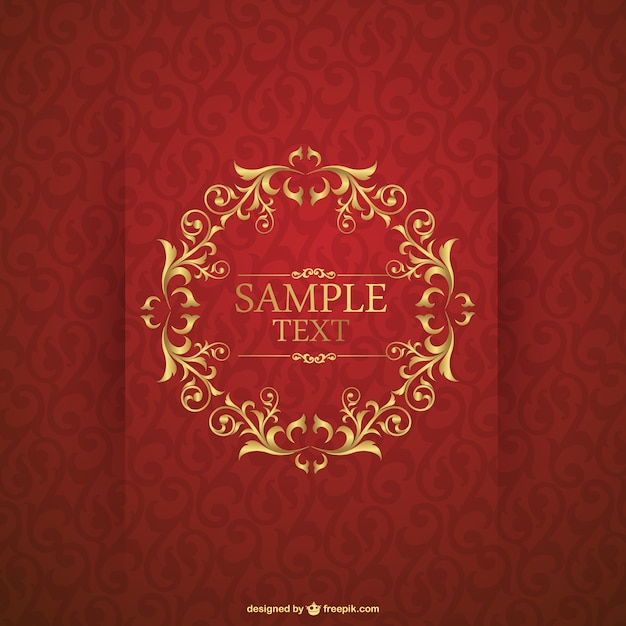 Invitation card template Vector | Free Download