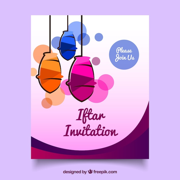 Invitation design free download vector clipart vector labs invitation iftar with lanterns vector free download rh freepik com invitation design vector file free download invitation cards design vector free download stopboris Image collections