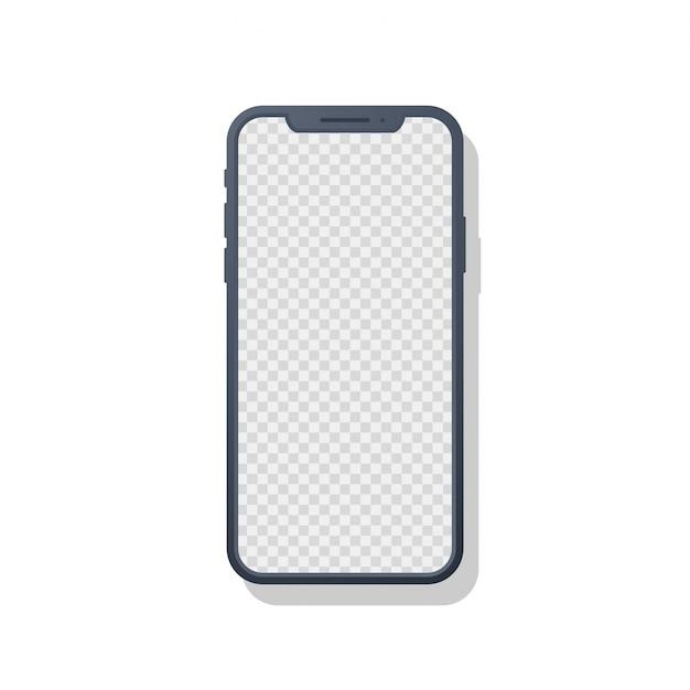 Iphone x mobile Premium Vector