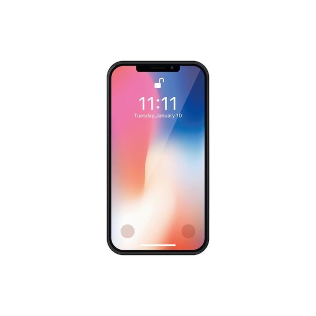 Iphone x Premium Vector
