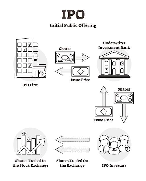 Ipo教育概要図 Premiumベクター