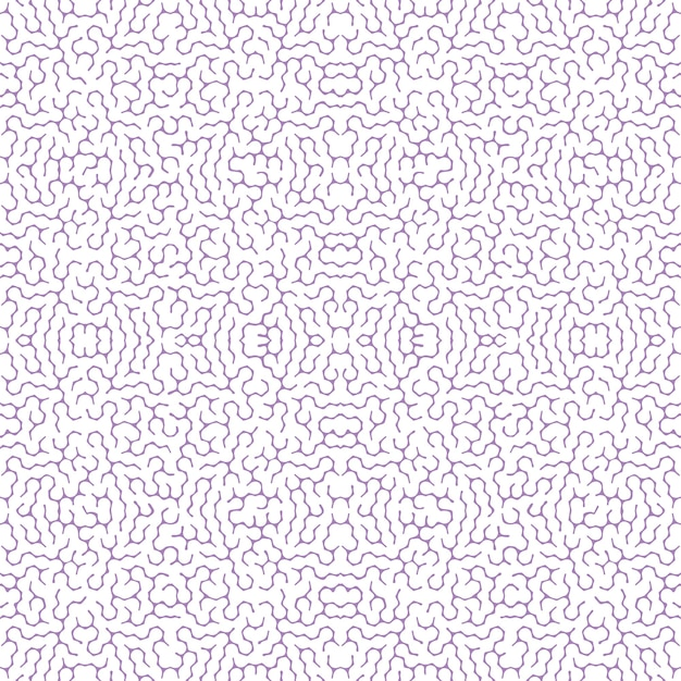 Irregular seamless pattern. maze or labyrinth Premium Vector
