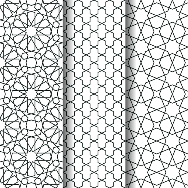 Islamic Geometry Pattern Premium Vector