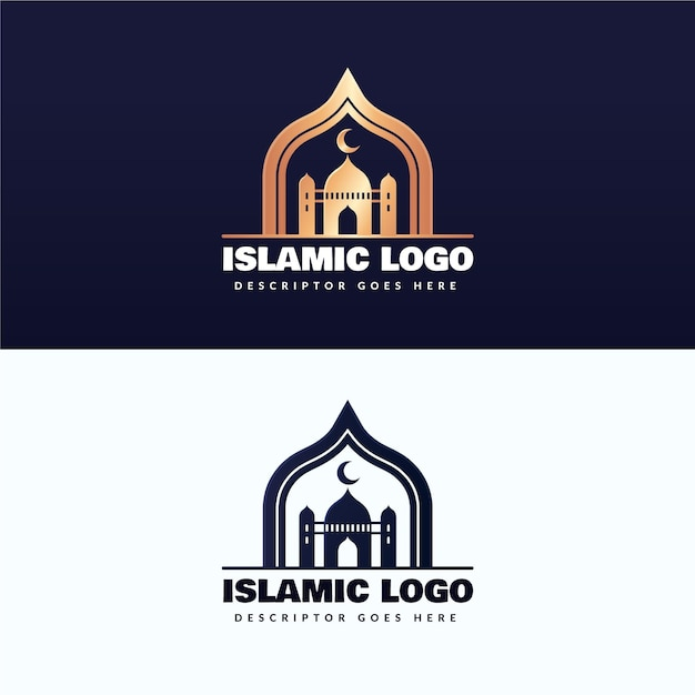 Шаблон коллекции логотипов diamond Бесплатные векторы