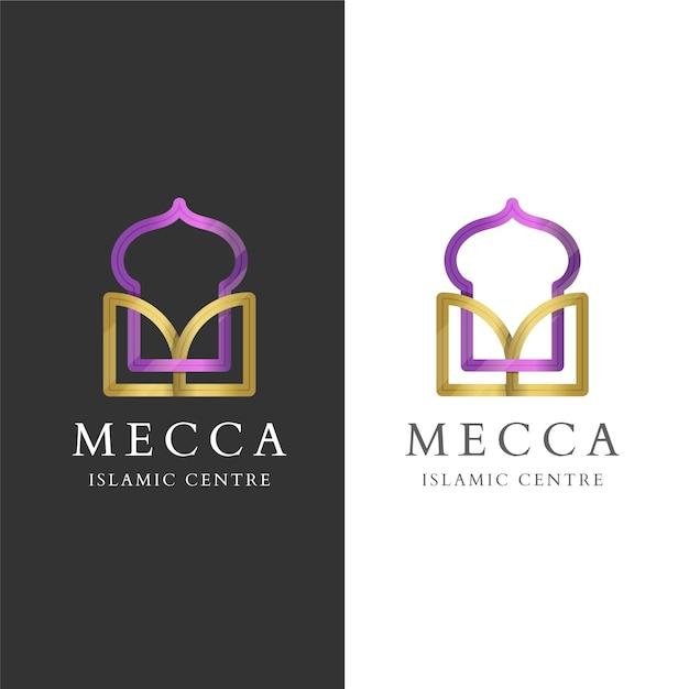 Исламский логотип Бесплатные векторы