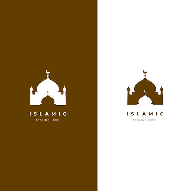 Modello di logo islamico Vettore gratuito