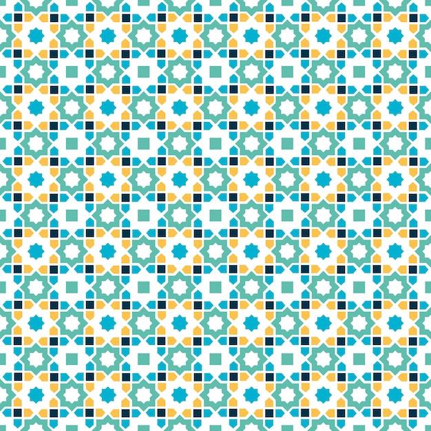 Islamic pattern Premium Vector