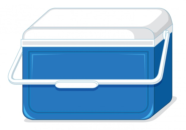 Isolated of igloo cooler Free Vector