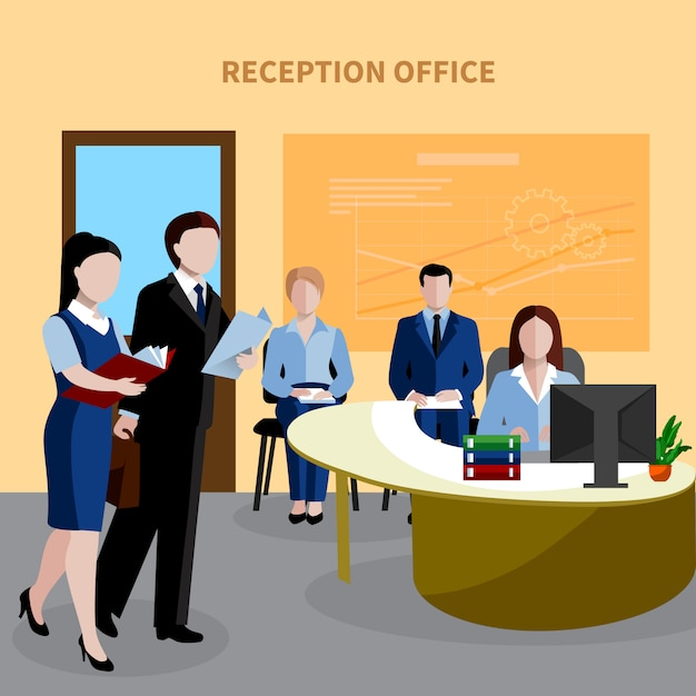Isometric human resources Free Vector