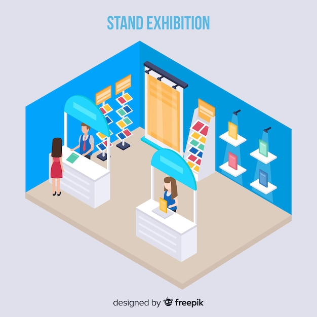 Exhibition Booth Vector Free Download : Stands vectors photos and psd files free download