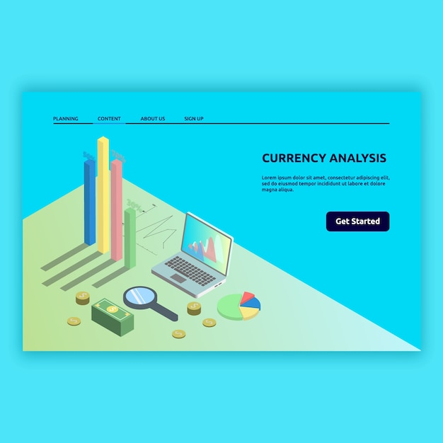 Isometric technology modern with 3d images. isometric illustration design for digital, computer modern, technology modern and much more. Premium Vector